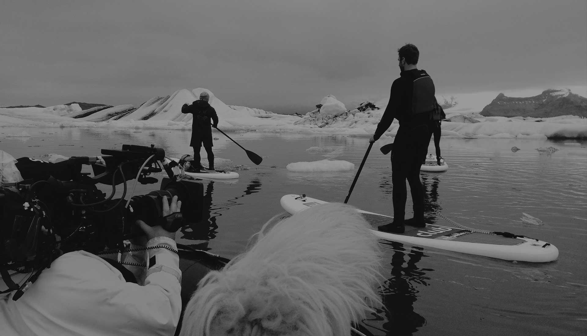 Iceland Paddling Scene
